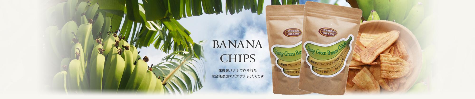 椰子屋メインイメージ バナナチップス